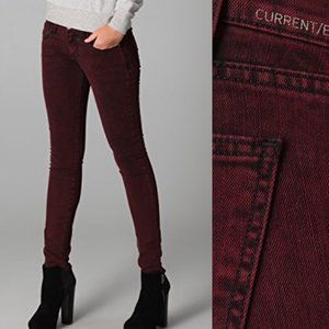 Current/Elliott | The Rolled Skinny Jeans in Fig